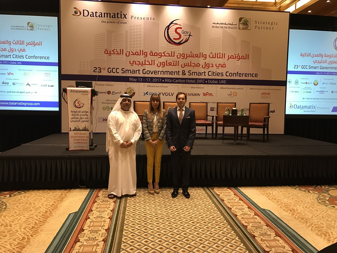 GCC Smart Cities Conference 2017 - Dubai 11