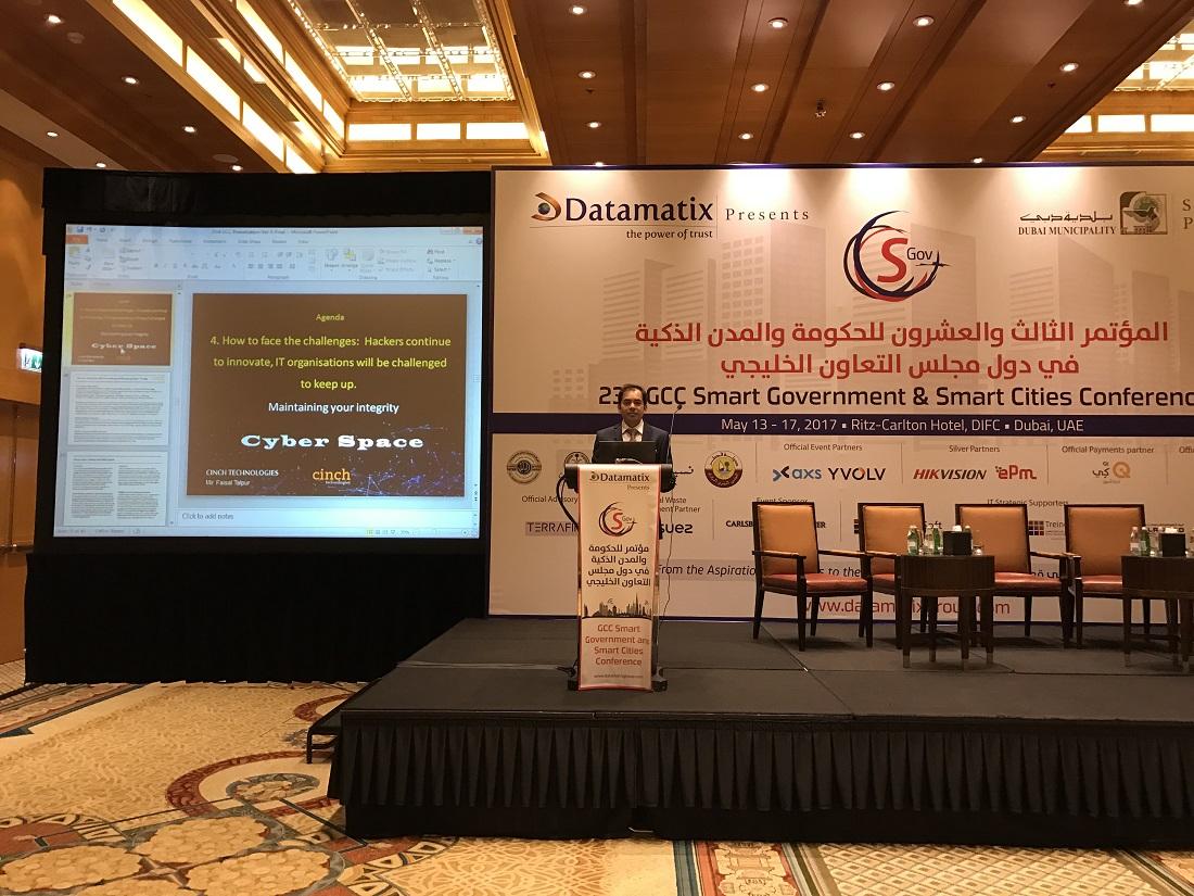 GCC Smart Cities Conference 2017 - Dubai 10
