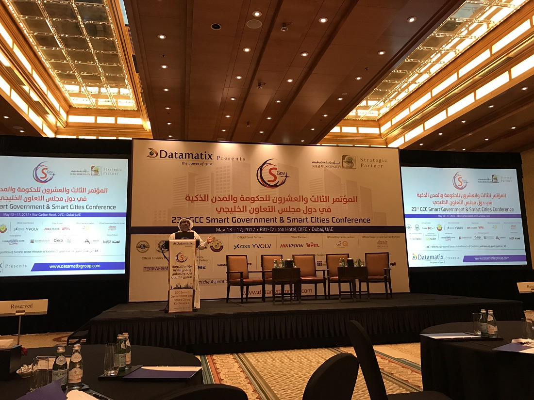 GCC Smart Cities Conference 2017 - Dubai 9