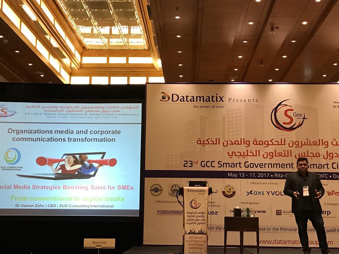 GCC Smart Cities Conference 2017 - Dubai 12